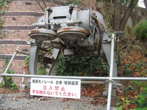 姫路モノレール台車