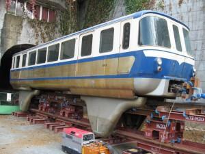 姫路モノレール車両2