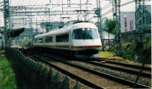 リニューアル前の21000系お召し列車