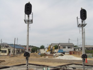 三木駅構内の信号機