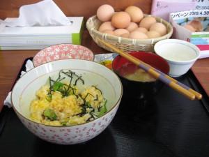 ラベンダーパーク多可の卵かけご飯