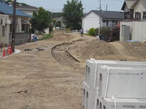 残された側線三木駅から厄神方向