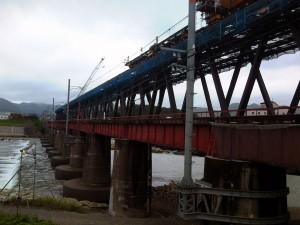 第3加古川橋梁左岸より