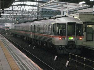 ひだ16号大阪行き