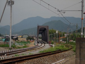 西脇市駅側から見た第3加古川橋梁