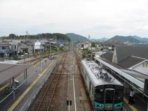西脇市駅構内2010年9月19日