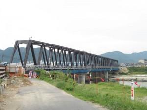 北側から見た第3加古川橋梁