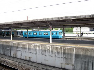 和田岬線用103系6連本線回送