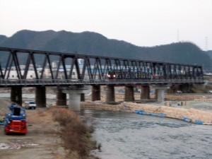 新第3加古川橋梁103系1番列車