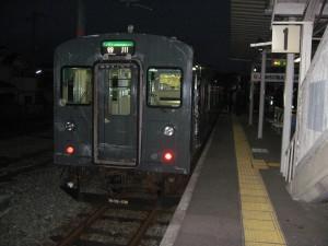 1番列車は走れ!Y字路103系3558