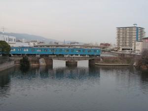 兵庫運河を渡る和田岬線
