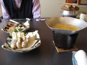 駅プラン 祥吉 京風牡蠣鍋