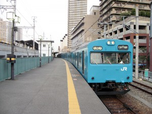 和田岬線スカイブルー103系6連