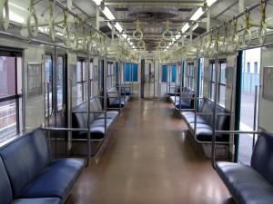 和田岬線103系車内
