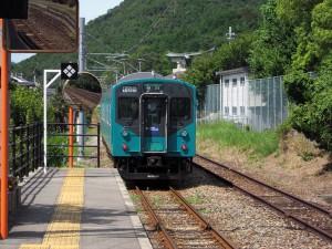 加古川線黒田庄駅103系3551