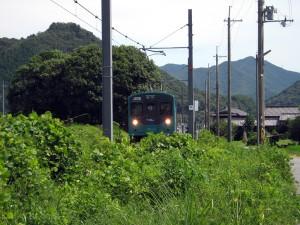 加古川線黒田庄駅付近103系3551