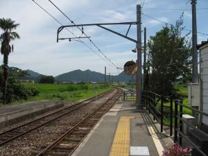 加古川線黒田庄駅構内線路