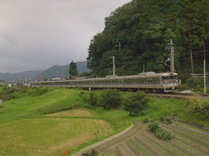 113系快速大阪行き