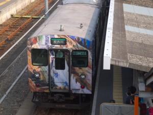 滝の音、電車の音サボ付き