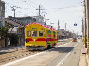 豊橋まつり花電車3200形3203