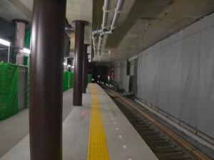 阪神三宮3番線東端部