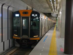 阪神1000系1203F奈良行き快速急行