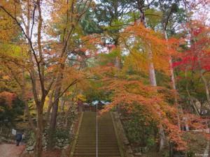 石龕寺紅葉