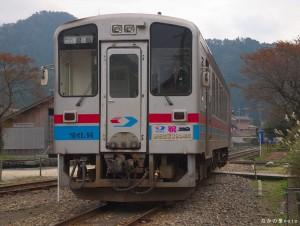 入れ替え中の列車