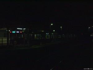 粟生駅にて6000系準急新開地