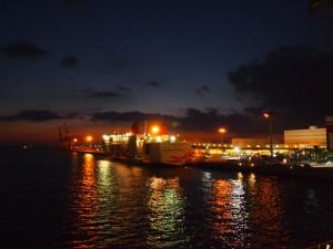 南港の夜景