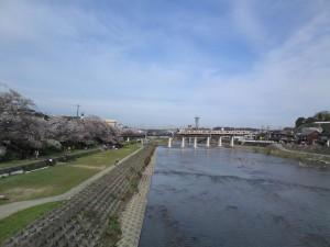 美嚢川と粟生線電車