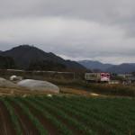 播但線と竹田城