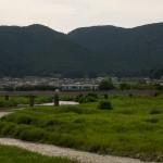 篠山川橋梁橋梁を渡る加古川線2331S
