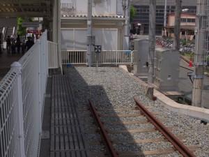 山陽網干駅標準軌の終点