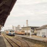 気動車佇む那珂湊駅