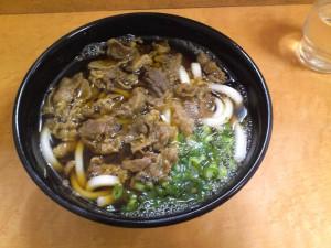浜松駅肉うどん
