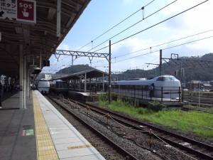 2012年8月12日米原駅構内