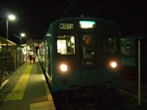 西脇市駅着1353S120814