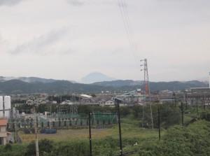 富士山と大井川鉄道線