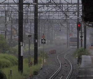 二宮駅サンライズ遅延2012年8月14日