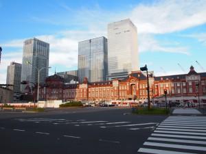 東京駅丸の内口2012年8月12日