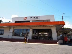 興津駅2012年8月12日