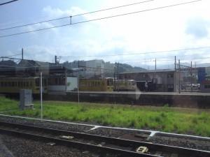 2012年8月12日彦根駅停車