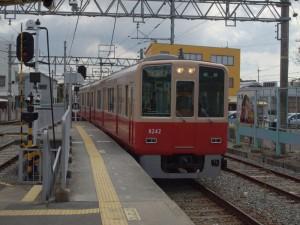 阪神8000系8241F赤胴車