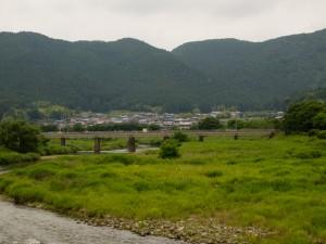 加古川線篠山川橋梁130623