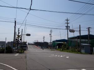 臨港線踏切信号付き