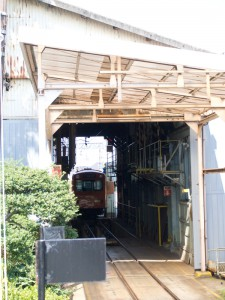 内部線車庫