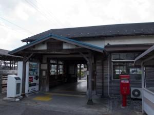 美濃赤坂駅駅舎