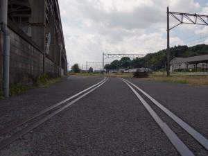 矢橋大理石専用線跡