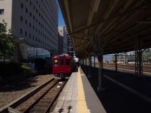 大垣駅養老鉄道ホーム